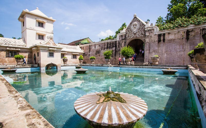 Planning a Trip to Indonesia: Taman Sari Water Castle